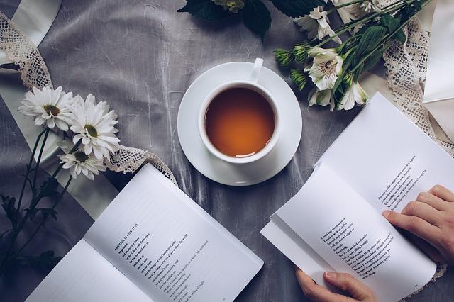 čaj u knih