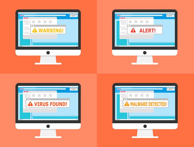varování na monitorech