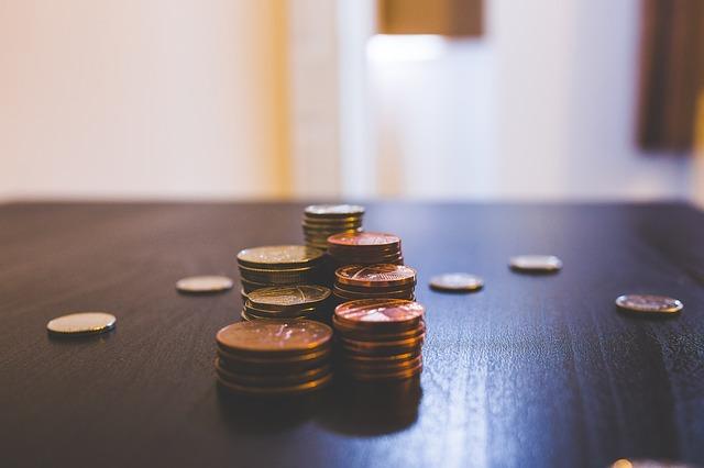 bronzové mince