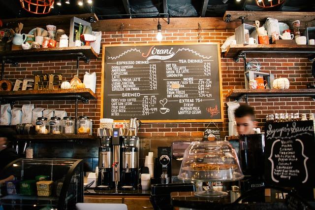 Bar, kavárna, restaurace.