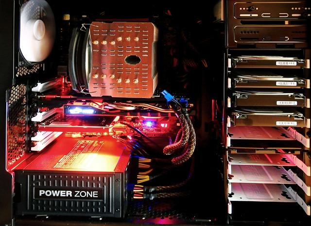 Počítač v akci