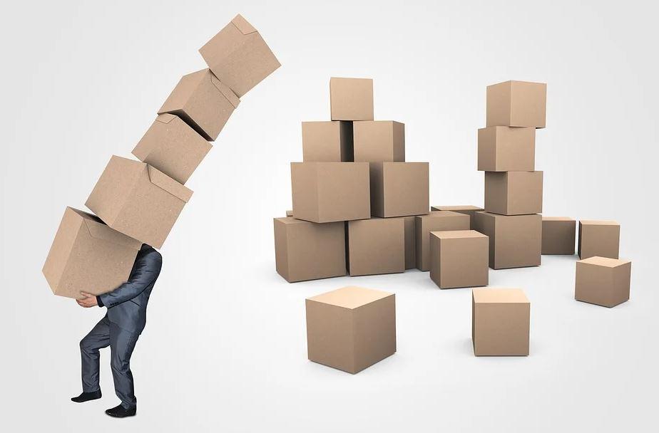 přenášení krabic